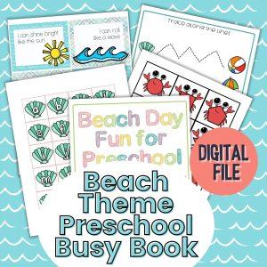 Beach Day Busy Books